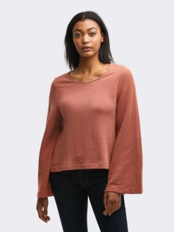 Gabriella_Bell_Sleeve_Pullover_Terracotta_Front_2048x2048